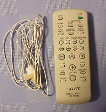 FACTORY ORIGINAL SONY SYSTEM AUDIO REMOTE CONTROL RM-SC3 WITH ANTENNA