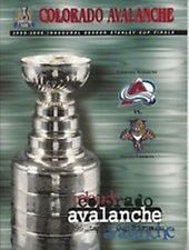 1996 NHL STANLEY CUP FINALS PROGRAM FLORIDA PANTHERS @ COLORADO AVALANCHE - VER1