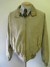 "Polo Ralph Lauren con cremallera de gamuza Harrington Jacket L 42-44"" euro 52-54 - Brown"