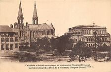 BR64892 cathedral designed built by a missionary rangoon  burma myanmar mandaley