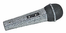 NJS280 Silver Crystal Bling Dazzling Effect Karaoke Party Home Microphone