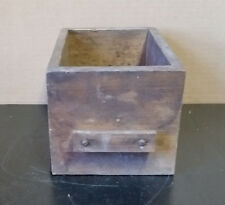 "Vintage Small Wooden Box/Drawer - 8 1/2"" x 5 3/4"" x 5"""