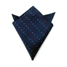 Men's Suit Pocket Towel Hanky Wedding Silk Polyester Pocket Handkerchiefs 1#