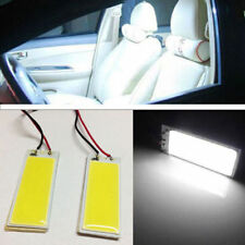 2Pc White  Xenon HID  36 COB LED Dome Map Light Bulb Car Interior Panel Lamp 12V