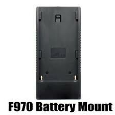Battery Adapter Base Plate F970 for Sony VX2100E HVR-V1C F330 Lilliput Monitor