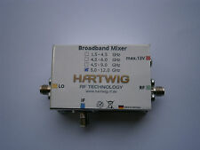 Hartwig-RF Broadband Mixer Module, ready made 5 - 12 GHz