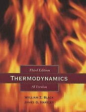 Thermodynamics by William Z. Black and James G. Hartley (1997, Hardcover) 3rd 3e