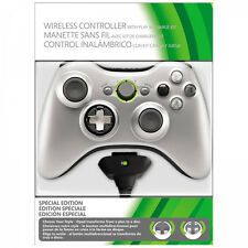 XBOX 360 MOD 13 MODE Rapid Fire Wireless Controller silver special with P&C kit