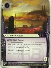 Android Netrunner lunaires - 1x Oaktown Grid #053 - Chrome City