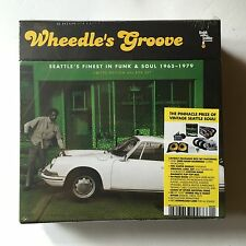 "Various FUNK SOUL ‎Wheedle's Groove 2011 10 record Box Set Vinyl 7"" Compilation"