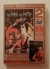 Bruce Lee The Man The Myth and Mortal Conquest - Region 2 - VGC - DVD - Tested