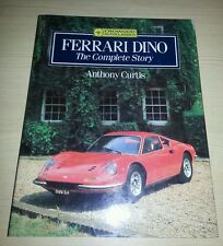 Ferrari Dino The Complete Story Anthony Curtis VGC FREE POSTAGE 246 GT GTS 308