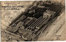 CPA  Vue aerienne des usines de la chicoree protez delatre a cambrai   (190600)