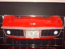 1969 Chevrolet Corvette Stingray C3 Resin Wall Shelf, Red