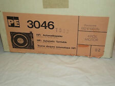 PE 3046 Vintage Turntable Made in Germany NEW in BOX
