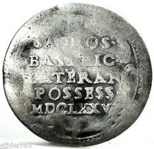 Roma,(Innocenzo XI) 1/2 Grosso 1676,del possesso