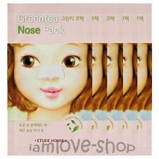 [Etude House] Greentea Nose Pack 5 sheets green tea