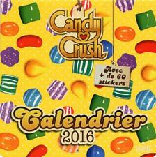 calendrier 2016   candy crush Collectif Occasion Livre
