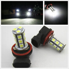 2pcs H11 White Fog Light LED Bulbs For Ford Falcon FG Turbo G6/XR6 XR8 2008-2014