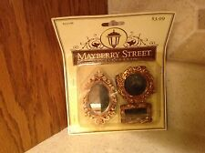 Mayberry Street Doll House Miniature Set Of Three Mirrors New In Package