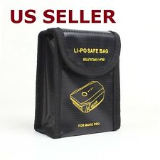 Lipo Battery Safe Bag Fire Resistant Storage Protector Case for DJI Mavic Pro
