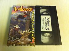 The Tree Lounge Advantage 3 Dean Durham 50 Explicit Harvest Scenes Hunting VHS