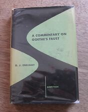 A COMMENTARY ON GOETHE'S FAUST -Enright - 1st HCDJ 1949 -$1.50 -new directions