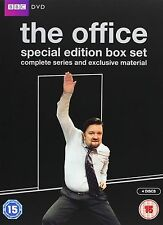 The Office Complete Series 1 2 Christmas Specials Mackenzie Crook NEW UK R2 DVD
