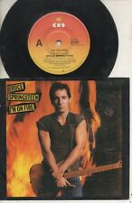 "BRUCE SPRINGSTEEN   Rare 1984 Australian Only 7"" OOP P/C Single ""I'm On Fire"""