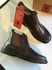 BNIB Older Boys Sz US 7.5 Thomas Cook Romper Brown Leather School Boots RRP $80