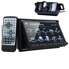 "Camera+2Din In-dash Car Stereo 7"" HD Touch Screen DVD Player GPS Aux iPod Radio"