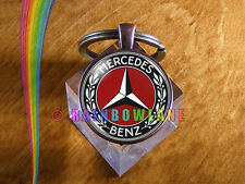 Handmade Mercedes Benz Car Keychain Key Chain Case Key Ring Car Accessories Gift