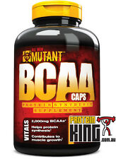 MUTANT BCAA 400 CAPS BRANCHED CHAIN AMINO ACID PROTEIN RECOVERY DYMATIZE ALLMAX