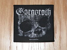 GORGOROTH - QUANTOS (NEW)SEW ON W-PATCH OFFICIAL BAND MERCHANDISE