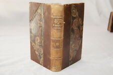 SHAKESPEARE T 4  LEMERRE RELIURE FRANCOIS VICTOR HUGO  OEUVRES