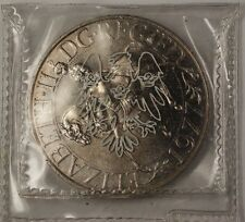 1977 Great Britain Queen Elizabeth the Second Jubilee BU UNC Crown Coin
