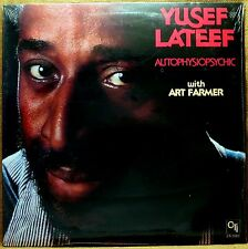 SEALED UNPLAYED JAZZ FUNK LP :YUSEF LATEEF AUTOPHYSIOPSYCHIC CTI 7082  1977