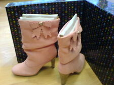 BRAND NEW PLAYBOY WINNIE SUEDE BOOTS PINK RRP £150 SIZE 5 EURO 38 NEW IN