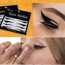 Excellent 4X Temporary Eye Tattoo Eyeshadow Eyeliner Stickers Deluxe Makeup