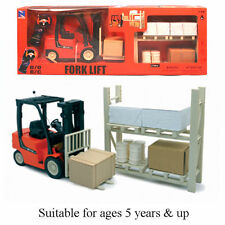 FORKLIFT TRUCK 1:14 RC REMOTE CONTROL - 09517 - IDEAL PRESENT GIFT TOY