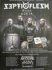 Septicflesh, Titan, Full Page Promotional Ad