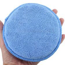 Microfiber Foam Sponge Polish Wax Applicator Pad Mat Car Home Cleaning 12cm Dia
