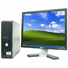 "Dell 760 Small Form with Dell 17"" LCD, Dual-Core CPU, & fully licensed Windows 7"