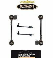 Rear Upper Control Trailing Arm Left Right Pair Stabilizer Sway Bar Link Set