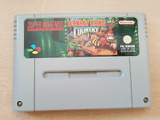 JUEGO SUPER NINTENDO SNES DONKEY KONG COUNTRY PAL VERSION ESPAÑA