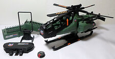 GI JOE 1994 RAZOR BLADE HELICOPTER VEHICLE 100% COMPLETE UNPLAYED MINTY SHAPE