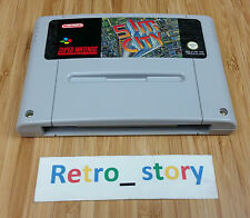 Super Nintendo SNES Sim City PAL