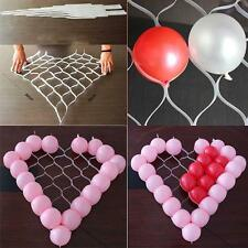 Birthday Wedding Party Decoration DIY Heart Shaped Plastic Grid Balloon Kit