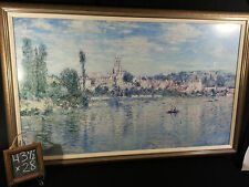 "Vetheuil In Summer Print by the Late Artist Claude Monet 43 1/2"" x 28"""