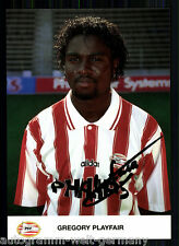 Gregory Playfair PSV Eindhoven AK 90er Jahre TOP Original Signiert +A 60442